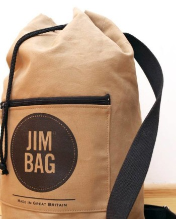 Jim Bag Duffle Bag Camel Brown