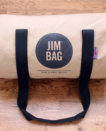 Jim Bag Small Holdall Camel & Black