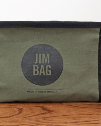 Jim Bag wash bag green