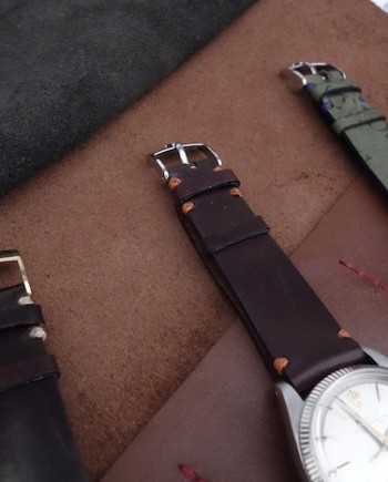 Horween Shell Cordovan Watch Strap