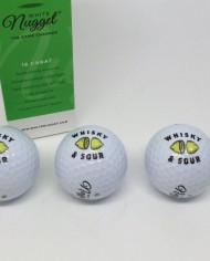 Whisky & Sour Golf Ball 3 Pack