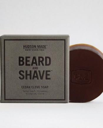 CEDAR CLOVE BEARD & SHAVE SOAP