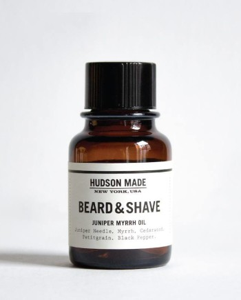 JUNIPER MYRRH BEARD & SHAVE OIL